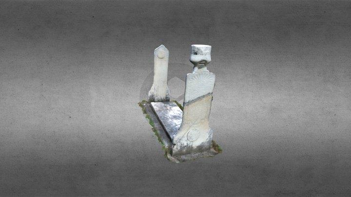Altun-alem tombstone 1 3D Model