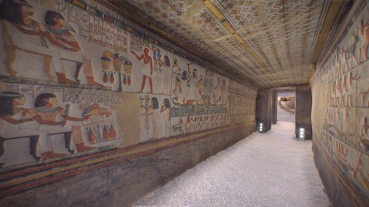 The Tomb of Menna (TT69) 3D Model