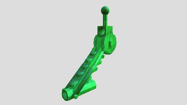 Bionicle Arm Piece 3D Model