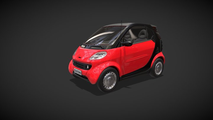 Smart By Material 3D Model