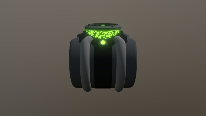 Omnitrix 3D Model
