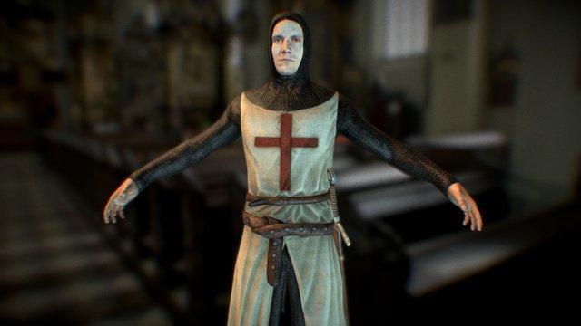 Crusader (Letholdus the Righteous) 3D Model