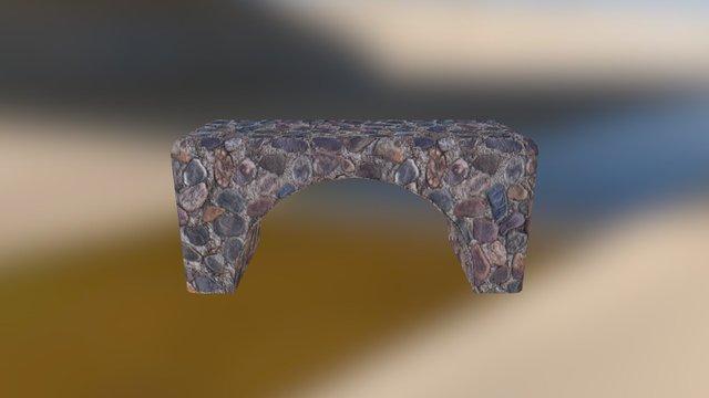 Cobble bridge 3D Model