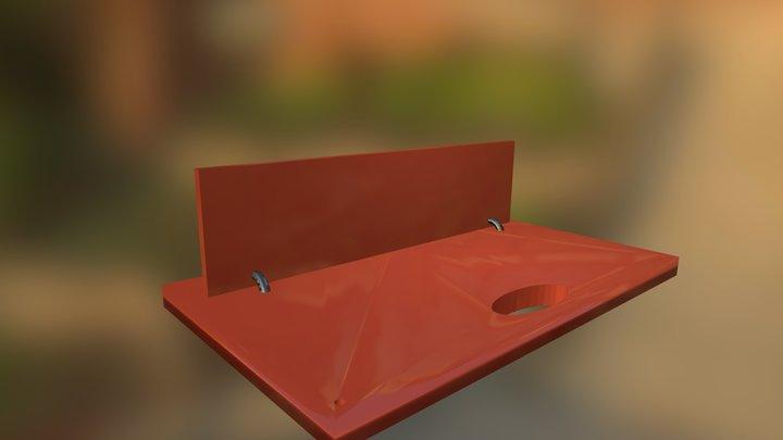 Moving Board 3D Model