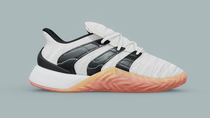 Adidas Sobakov 2.0 Originals White 3D Model