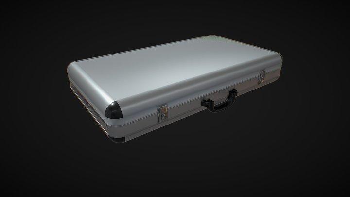 Aluminum Briefcase 3D Model