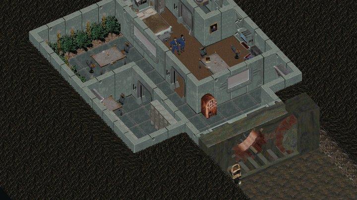 Fallout Environment (fan art) 3D Model