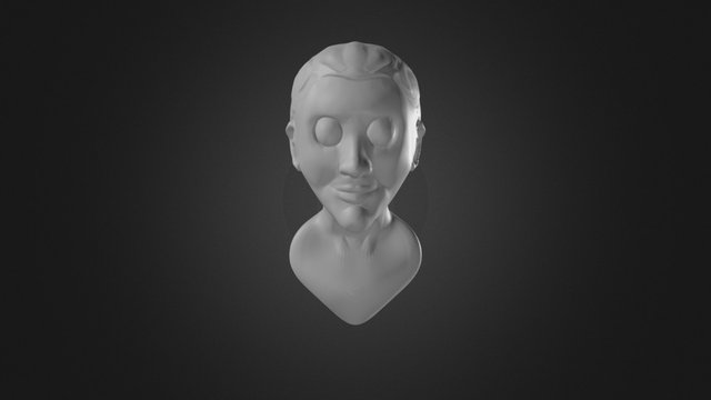 10-Busto no griego (Multiresolution Modo Brush) 3D Model