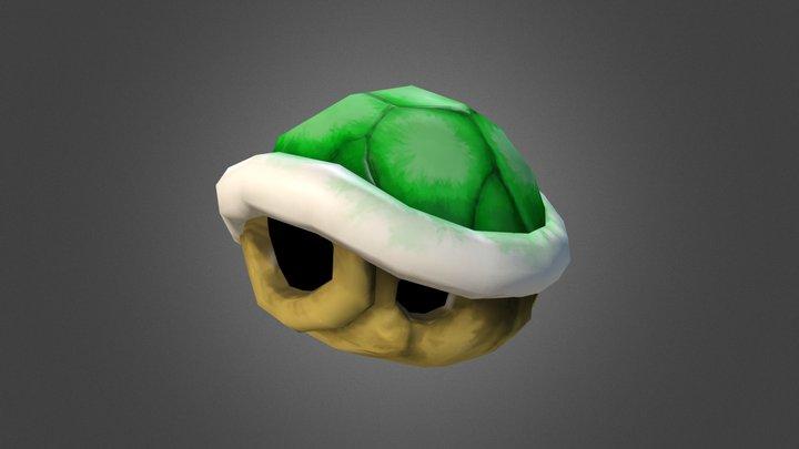 Koopa Shell 3D Model