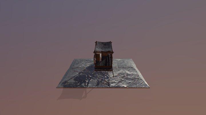 170147 Michelle Holtzhuizen Wagon 3D Model