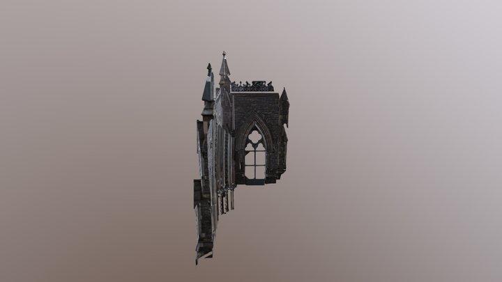 Église Anglicane St-George, Montréal, Qc 3D Model