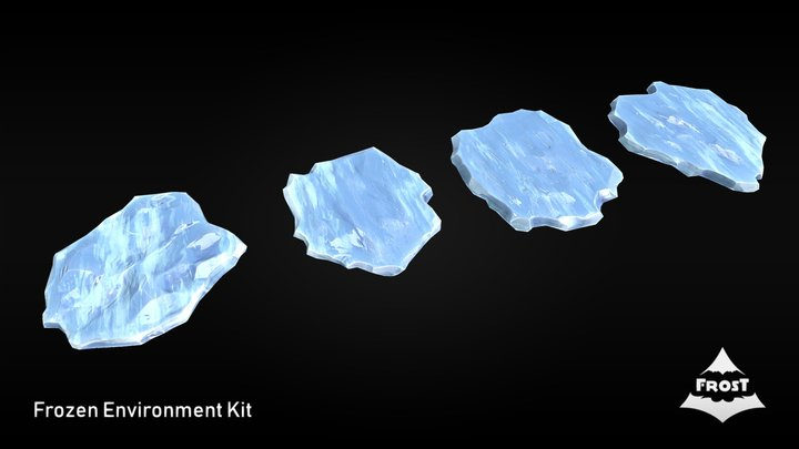 FROST - Ice Floes 3D Model