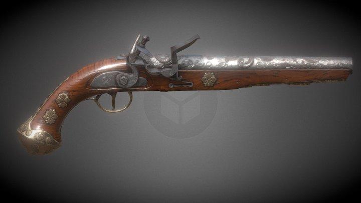 old gun 3D Model