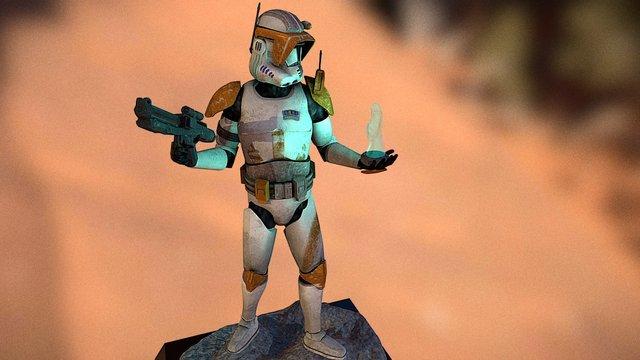 ORDER 66 - Commander Cody 3D Model