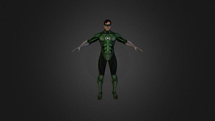 Green_Lantern 3D Model