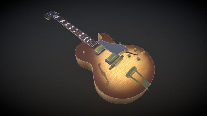 Gibson ES-175 Hollow Body Jazz Guitar 3D Model