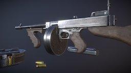 M1928A1 Thompson  - For Sale 3D Model