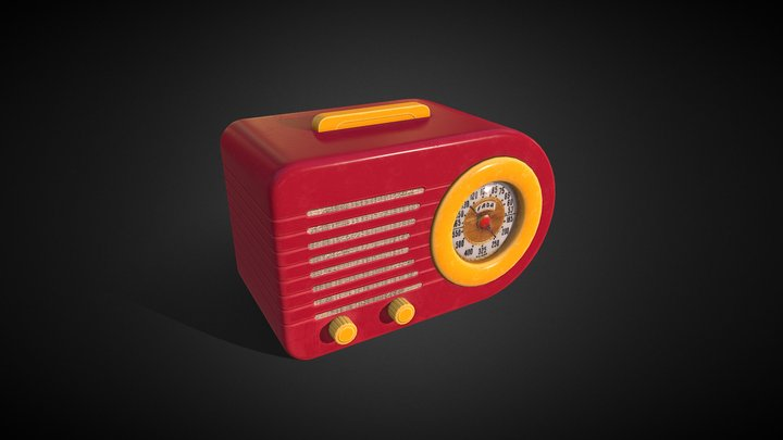 FADA Radio - The Bullet 3D Model