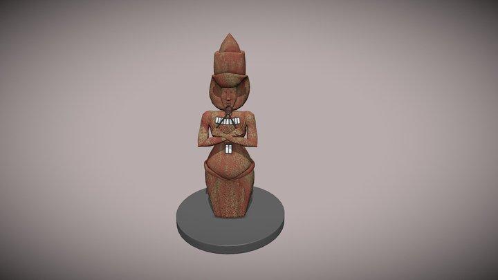 Ancient Artifact 3D Model