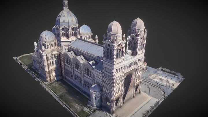 Cathédrale de La Major / Marseille 3D Model