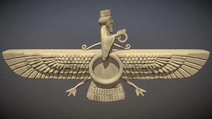 Faravahar 3D Model