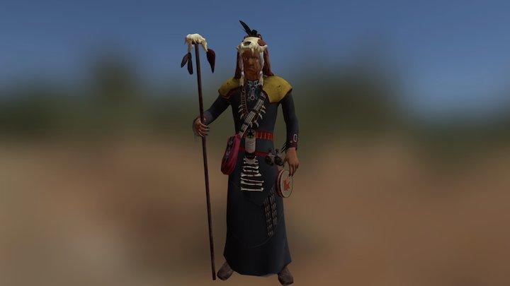Shaman 3D Model