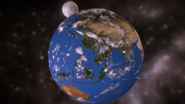 🌏 Planet Earth 3D Model