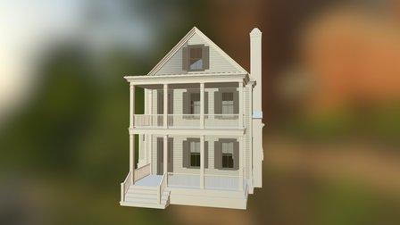 Scarlett Oak 3D Model
