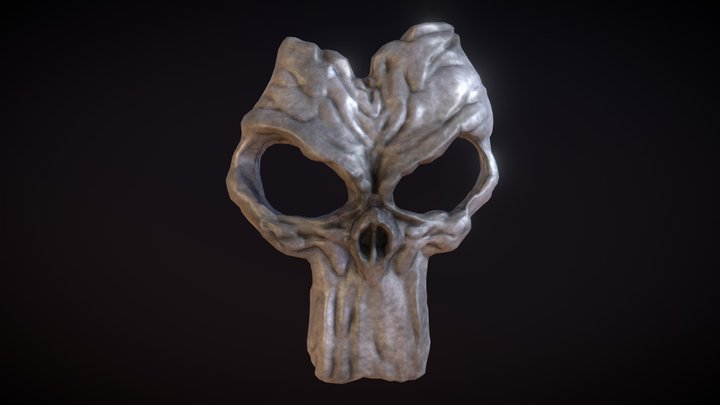 Darksiders: Mask of Death Lowpoly Model 3D Model