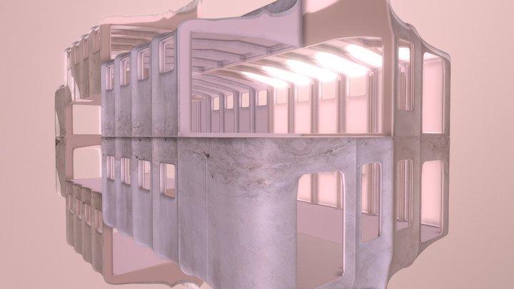 Fictional exhibition #3 3D Model