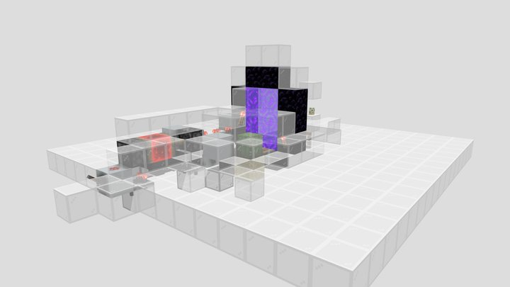 Chunkloader - Overworld 3D Model