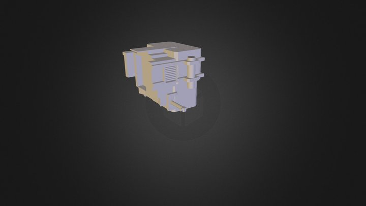 Large Rucksack 3D Model