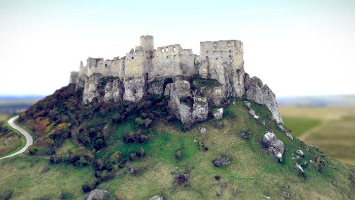 The ruins of Spiš Castle | UNESCO 3D Model