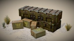 Army Ammo 3D Model