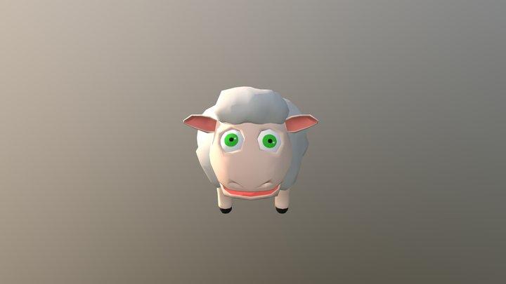Sheep To Mudbox 3D Model