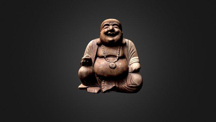 Laughing Buddha Hotei 3D Model