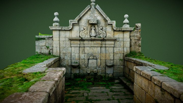 Fountain of Nuestra Señora of Darbo 3D Model