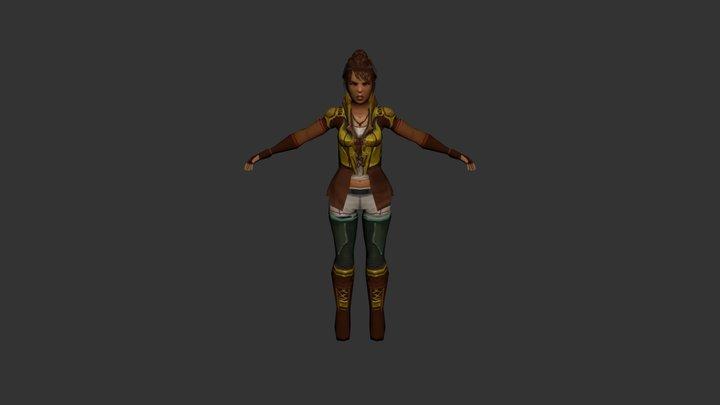 Manisha 3D Model