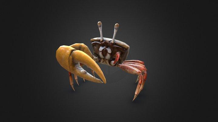 Dancing Crab - Uca Mjoebergi 3D Model