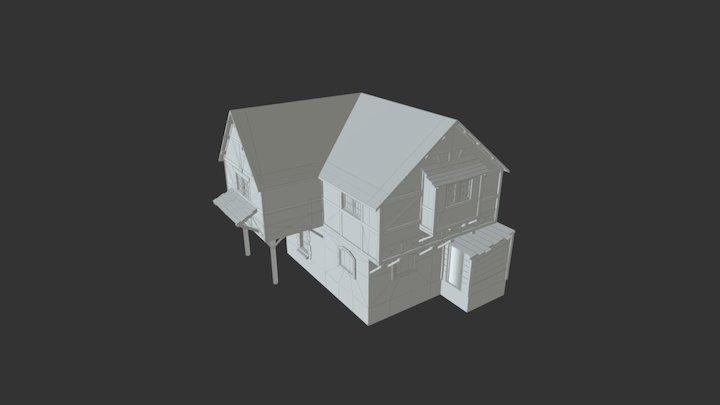 House 5 3D Model