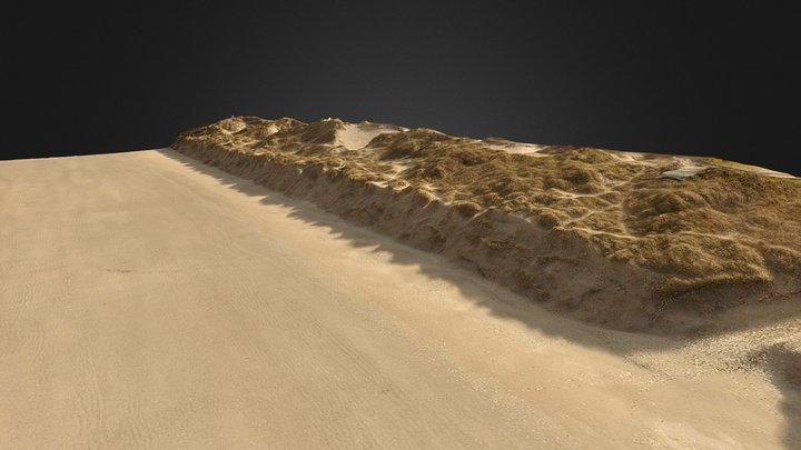 La Dune Marchand, Zuydcoote (59) 3D Model