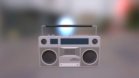 Boombox 3D Model