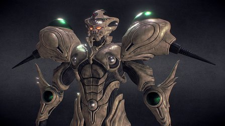 Guyver Gigantic 3D Model