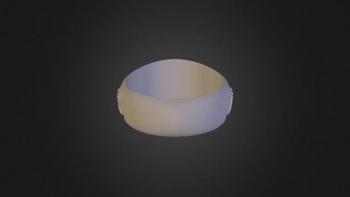 טבעת רונקי 3D Model