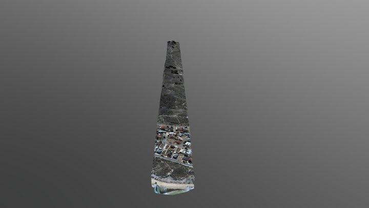 Cell Tower Line Of Site Survey LOS 3D Model