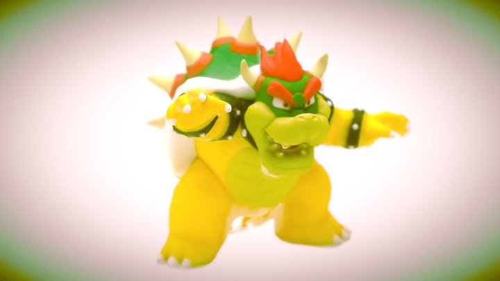 Cheap Bowser Photogrammetry 3D Model