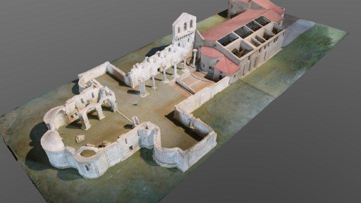 SS. Trinità di Venosa 3D Model