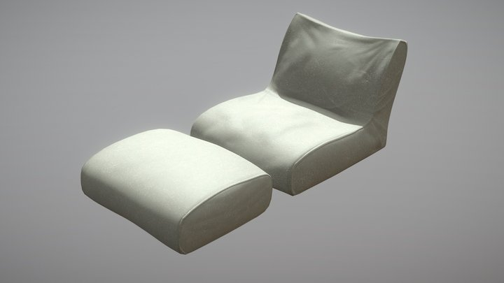 Ambient Beanbag 3D Model
