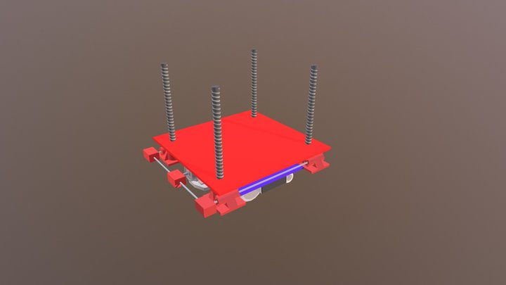 Lift Mechanism 3D Model