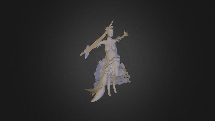 ELF Sketch 3D Model